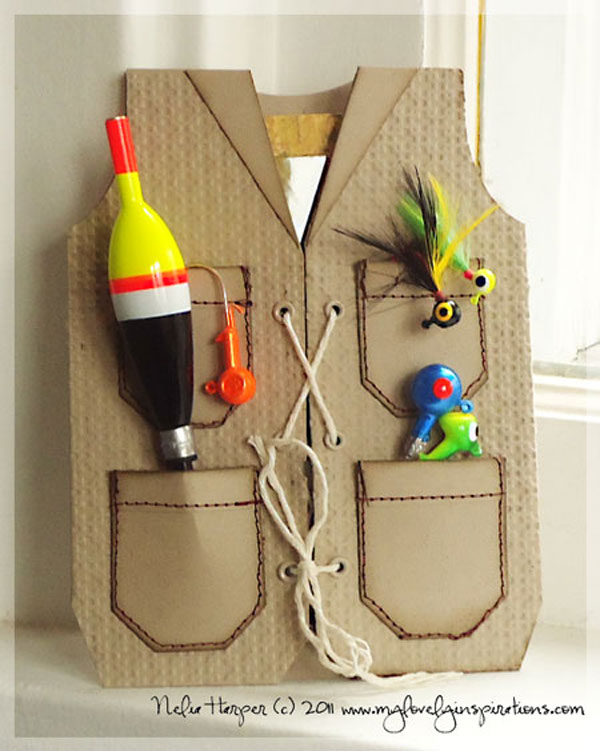 креативный подарок рыбаку на день рождения своими руками