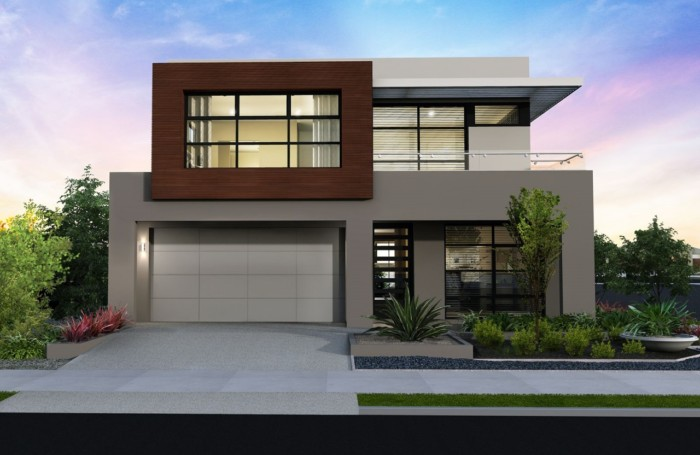 Fachadas de casas bonitas modernas de dos pisos simples for Fachadas de casas modernas pequenas de 2 pisos