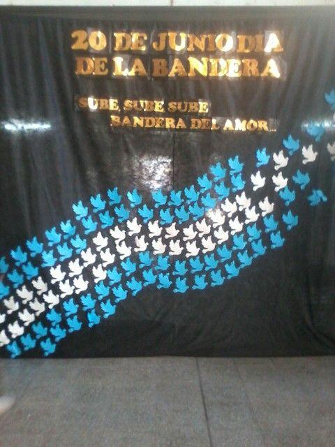 manualidades de banderas argentinas - 20 de junio (7)