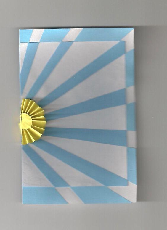 Manualidades del d a de la bandera argentina adornos for Banderas decorativas para el jardin