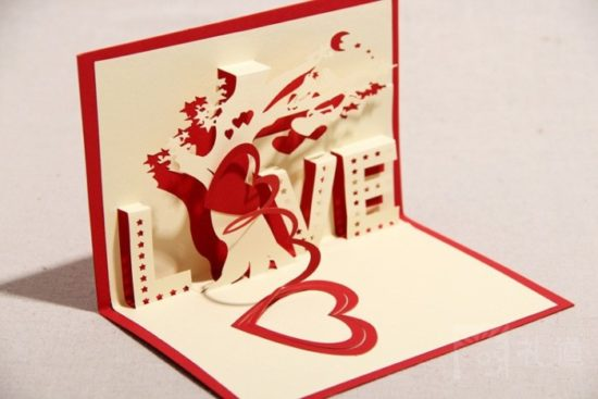 tarjetas de amor 3D - Pop up (1)