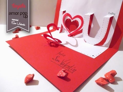 tarjetas de amor 3D - Pop up (16)