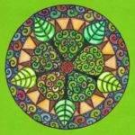 Mandalas de colores hermosos para descargar e imprimir