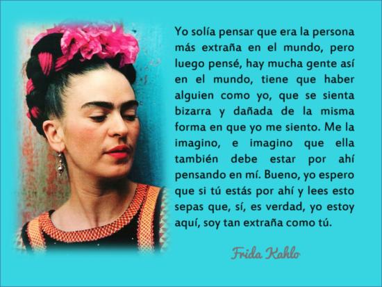 Frases y poemas de Frida Kahlo  (1)