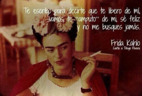 Frases y poemas de Frida Kahlo  (28)