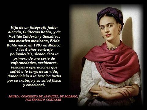Frases y poemas de Frida Kahlo  (5)