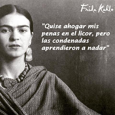 Frases y poemas de Frida Kahlo  (7)