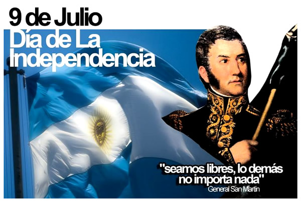 Información sobre el Día de la Independencia Argentina para niños