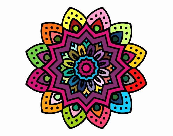 Mandalas de colores hermosos para descargar e imprimir - Colores para mandalas ...
