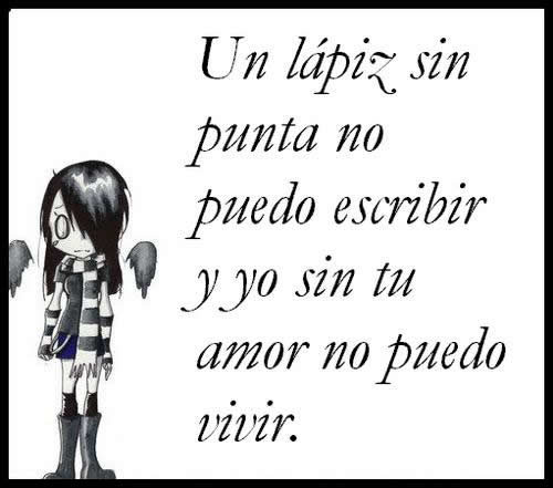 FRASES TRISTES - IMAGENES con FRASES - Frases e Imágenes