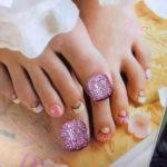 Imágenes de uñas decoradas para pies con hermosos diseños