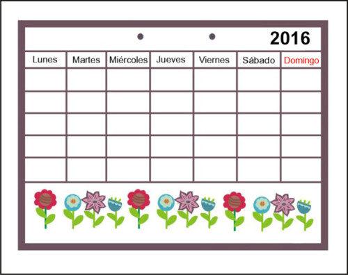 calendario entero 2016 página