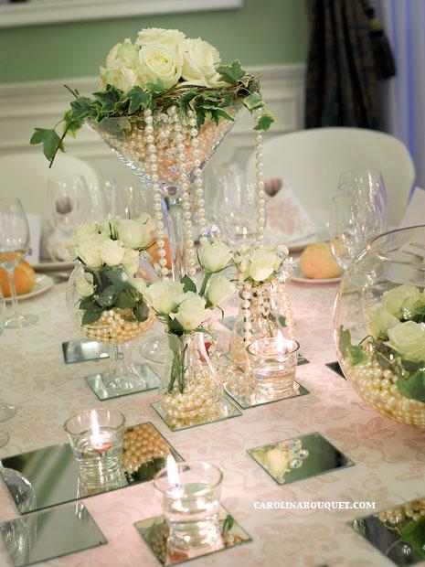 Im genes de centros de mesa para boda bautizo cumplea os for Fotos de mesas de bodas