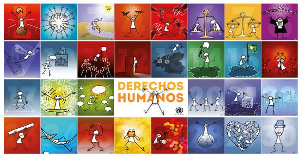 todos los derechos humanos ilustrados
