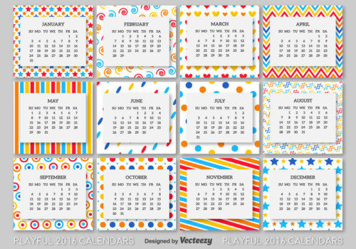 vector-2016-calendar-template