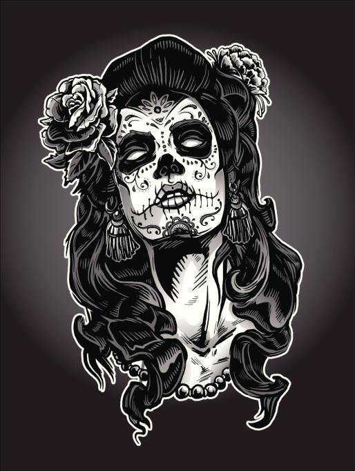 Imágenes de Calaveras Mexicanas chidas, diseños de día de ...