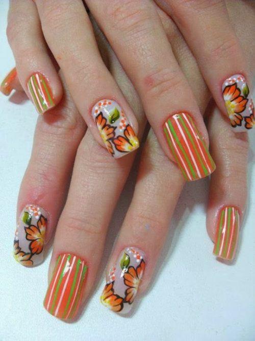 Imagenes de uñas decoradas, diseños y estilos de uñas (33)