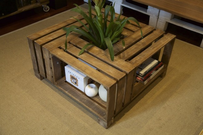 Im genes de muebles con palets sofas mesas camas ideas - Mesas de palets ...