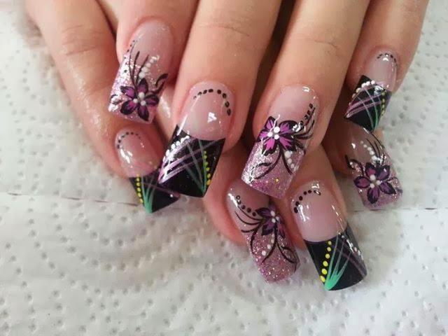 Bonitos diseños de uñas decoradas [imágenes] – Información