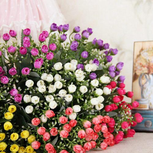 ... con un ramo de rosas puede ser símbolo suficiente de amor y amistad