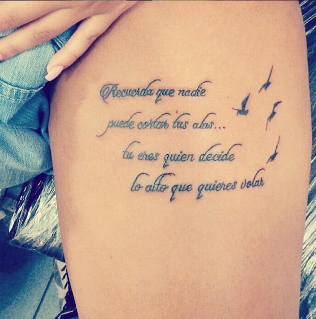 Im genes de tatuajes peque os letras y frases para - Tatuajes de pared ...