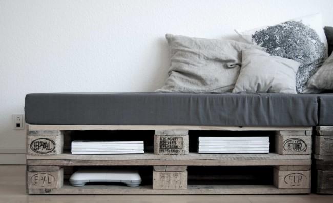 Im genes de muebles con palets sofas mesas camas ideas for Sofa hecho con palets