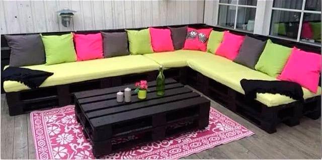 Im genes de muebles con palets sofas mesas camas ideas for Mueble hecho con palet