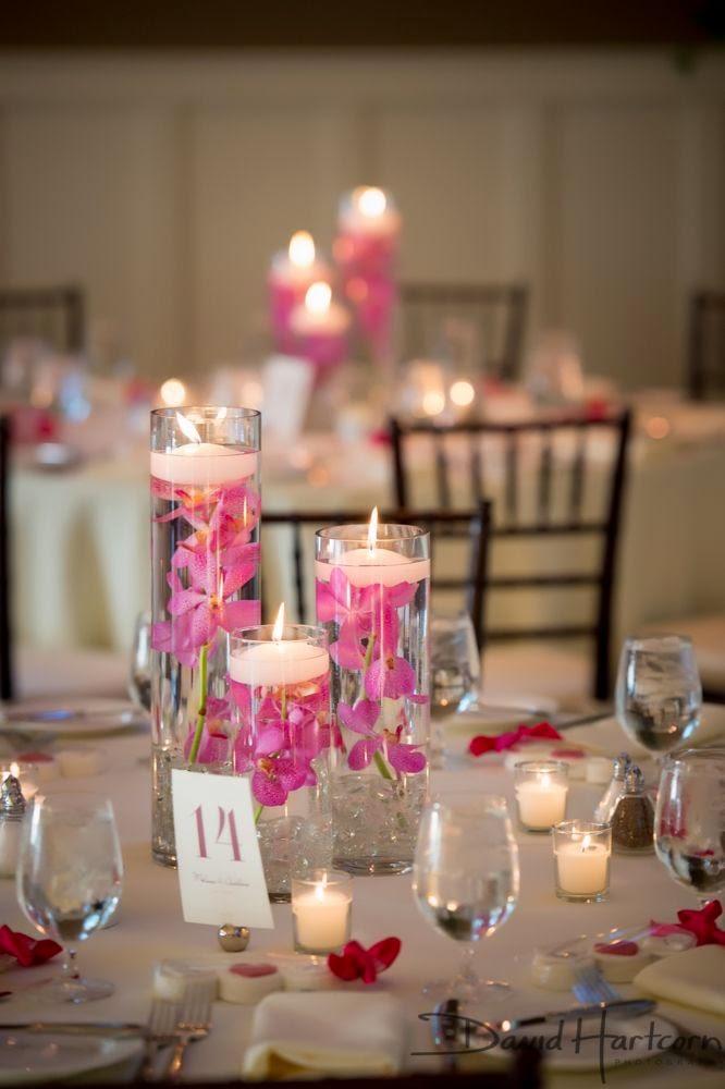 45 centros de mesa para boda con frascos botellas y velas - Botellas con velas ...
