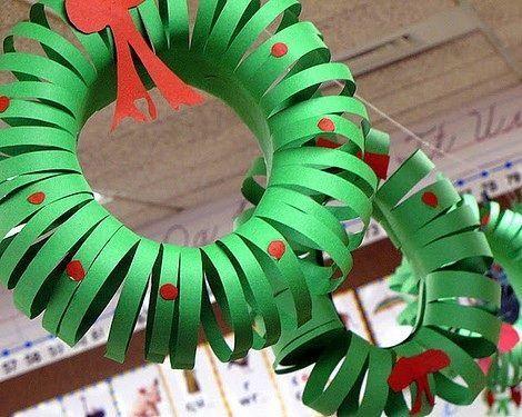 Adornos De Navidad Faciles Great Corona De Navidad Con Conitos De