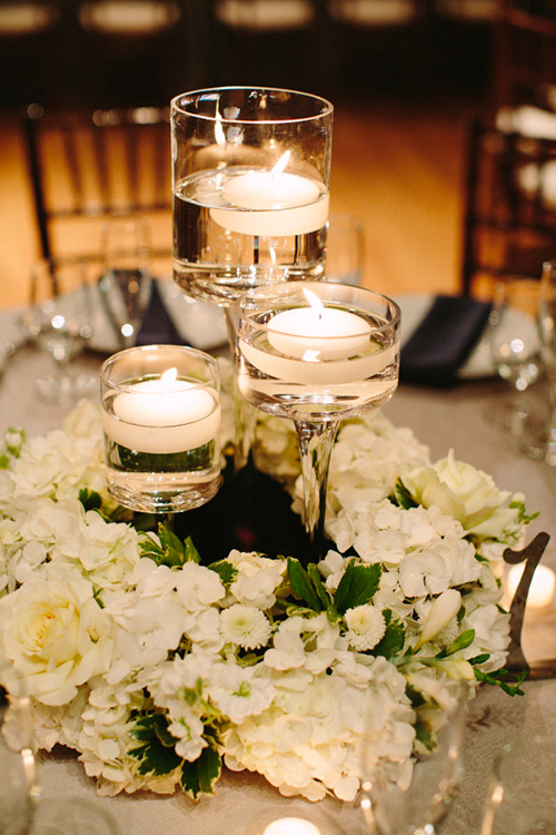 Matrimonio Simbolico Con Velas : Centros de mesa para boda con frascos botellas y velas