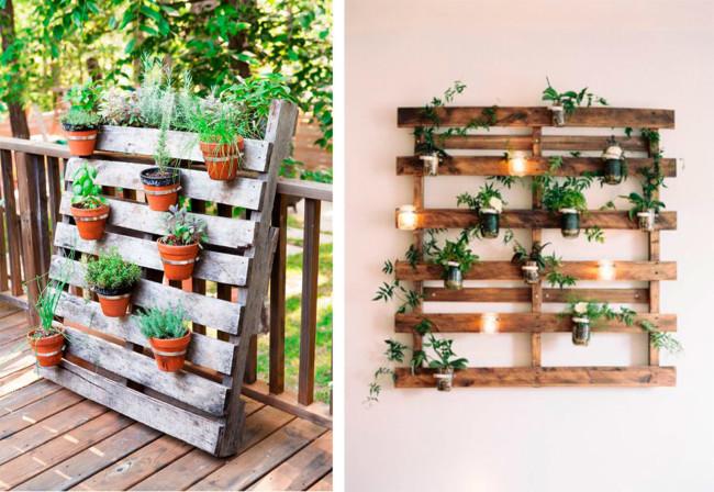 Dise o y decoracion de jardines modernos peque os o for Jardines verticales en balcones