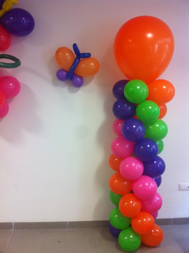 Decoraci n con globos y adornos para fiestas infantiles y - Hacer decoraciones con globos ...