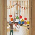 Decoración con globos y adornos para fiestas infantiles y cumpleaños