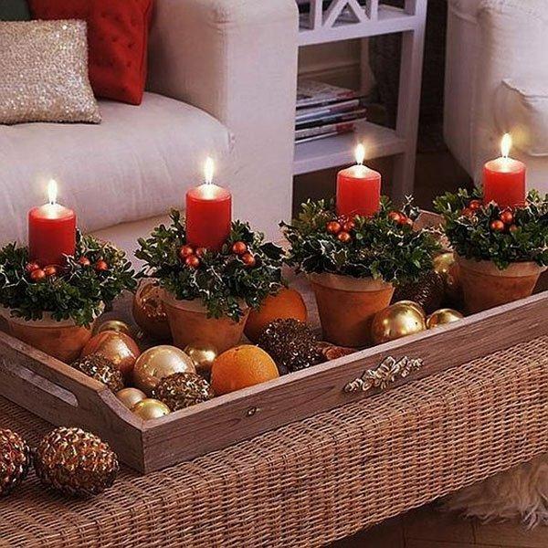 Decoracion velas navideas velas navideas nocturnar pin for Decoracion navidena artesanal