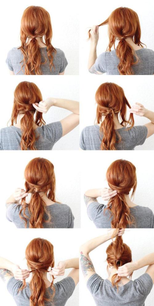 85 peinados fáciles para cabello corto, largo, trenzas, recogidos