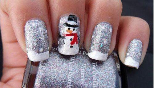 Diseños para uñas navideñas