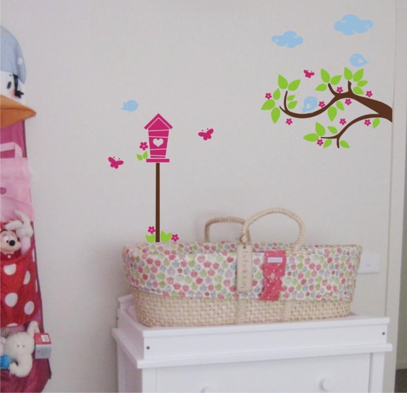 Vinilos Decorativos Pared Dormitorio Infantiles Delicados