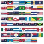 Información e imágenes de las Banderas de América