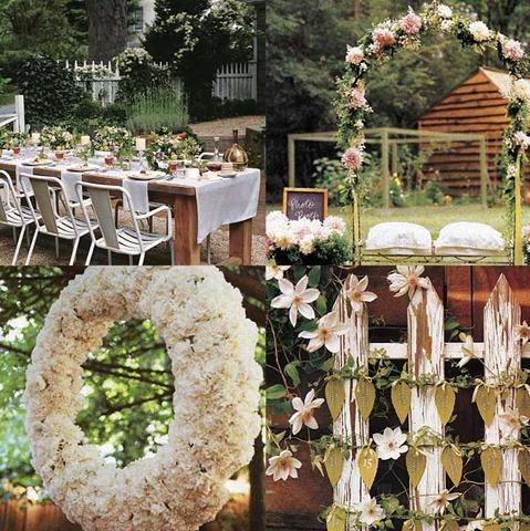 decoracin de bodas estilo vintage