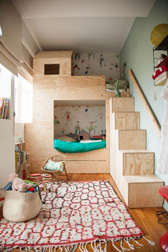 Decoraci n de cuartos para ni os ni as adolescentes y for Habitaciones originales para adultos