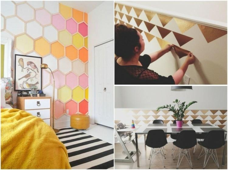 Decoraci n de paredes 45 im genes con ideas para decorar for Paredes originales