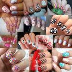 Diseños de uñas decoradas con puntos muy creativos