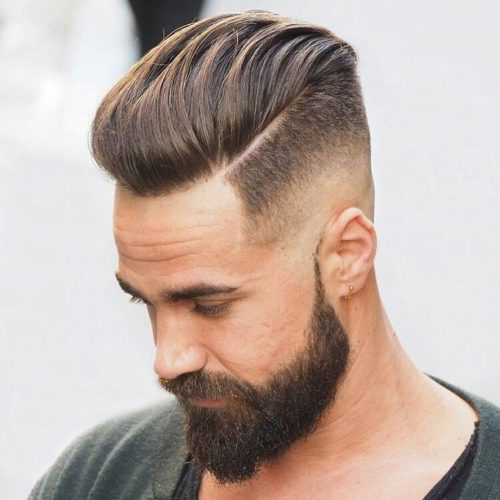 Cortes Pelo Chico Simple Hombre Actual La Barbera Del Siglo Xxi Con