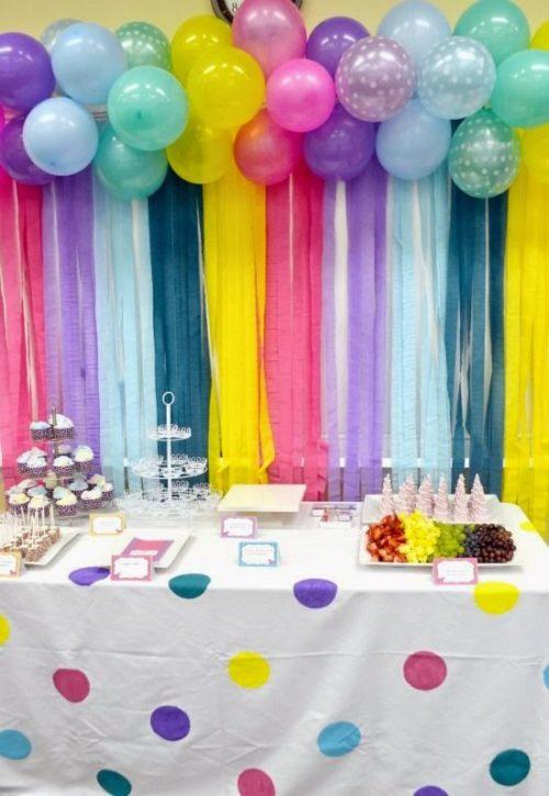 decoracin de fiestas de cumpleaos para adultos combina diferentes