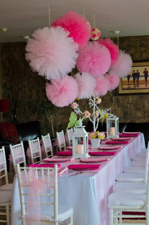 esta es una opcin que se puede tomar para decorar la fiesta de cumpleaos de una mujer o bien para cumpleaos infantiles