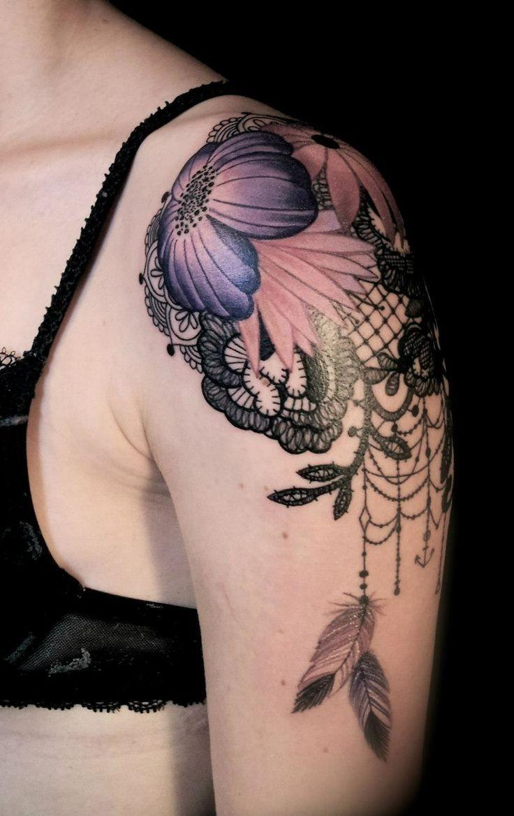 Tatuajes de atrapasue os para mujeres dise os y significado informaci n im genes - Tatuajes de pared ...