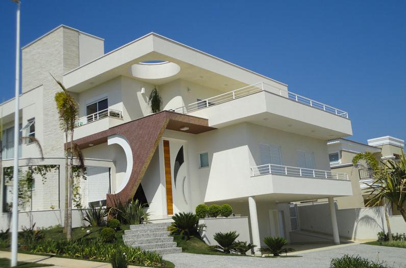 Fachadas para casas de tres pisos modernas 48 im genes - Fachadas de casas de diseno ...