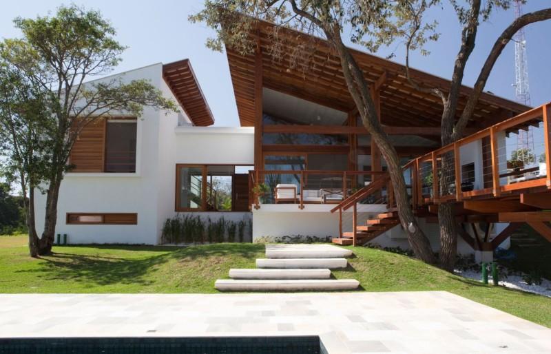 Fachadas de casas r sticas coloniales y de campo ant guas for Casas modernas rusticas