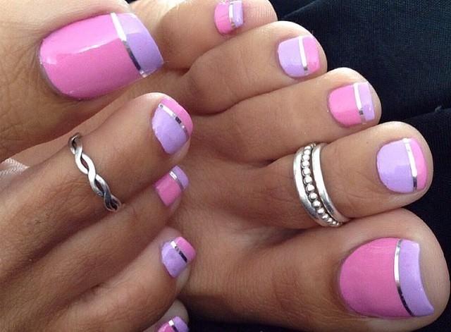 Figuras de uñas decoradas para pies con los mejores ...