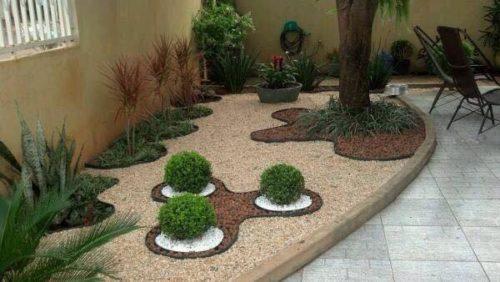 Como Decorar Jardines Pequeos Con Piedras. Awesome Decoracion ...